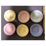 LU-RAY LOT OF 6 BOWLS 5-1/2 IN