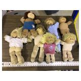 LARGE LOT OF CABBAGE PATCH DOLLS