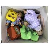 LAQRGE BOX OF MISC TOYS