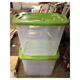 LOT OF 2 TOTES