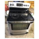 KENMORE ELECTRIC STAINLESS STOVE