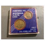 FAREWELL TO AUSTRALIA COINS
