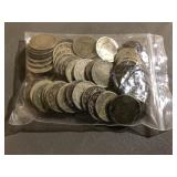 BAG OF V NICKELS