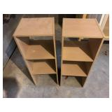 LOT OF 2 CUBE SHLEVING