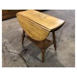 DROP LEAF END STAND