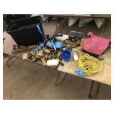 ASSORTED LOT WITH TOTE