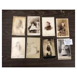 LOT OF 8 CABINET CARDS