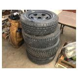 ASSORTED TIRES LIKE NEW