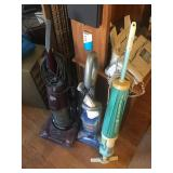 LOT OF 3 VACUUMS