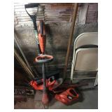 BLACK AND DECKER CORDLESS SET WITH CHARGER