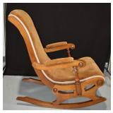 Victorian Lincoln Rocking Chair