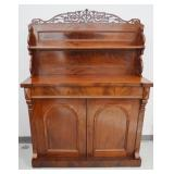 19th Cent. Renaissance Revival Walnut Sideboard