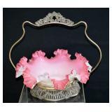Victorian Ruffel Glass Bride