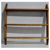 "Pine Wall Shelf - 32""h x 33""l x 6""d"