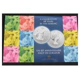 2012 $20 CAD Silver Coin Commerative Queen