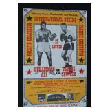 1972  Ali Vs. Chuvalo Boxing Poster - 34