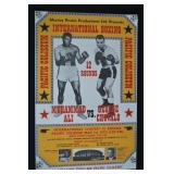 "1972  Ali Vs. Chuvalo Boxing Poster - 34""h x 22"""