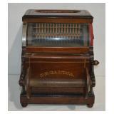 Rare Organina Wood Hand Crank Music Organ