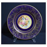 Crown Ducal Signed Hand Painted Plate