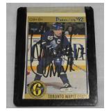 Signed Wendel Clark Hockey Card OPC