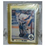 Curtis Joseph Rookie Hockey Card