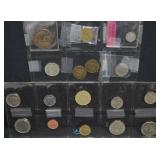17 pcs Assorted Coins & Tokens