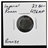 Imperial Roman Bronze Coin 27BC - 476AD