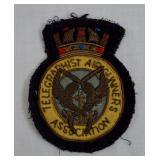 Vintage Telegraphist Air Gunners Assoc. Badge