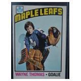 1976 Wayne Thomas Hockey Card OPC 327