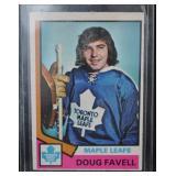 1974-75 Doug Favell #46 OPC - Toronto Maple Leafs