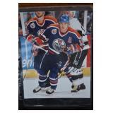 Signed Edmonton Oiler Esa Tikkenen Picture