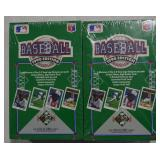 2 Boxes Sealed UD 1990 Collector