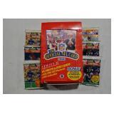 42 pks NFL Series I &II Wax Pack Football Cards