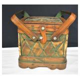 Handled Woven Basket