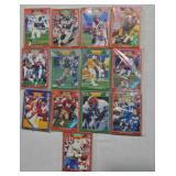 Pro Set Team Packs Football Cards