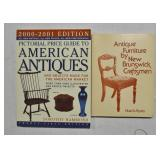 2 pcs Antique Reference Books