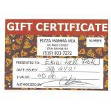 $40 Gift Certificate - Pizza Mamma Mia
