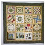 Quilted Wall Hanging EAS Homecraft Quilt Block