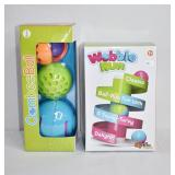 Wobble Run Baby Toy - Ombee Ball  6m - 1+