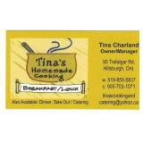 $20 Gift Certificate from Tina