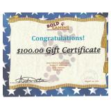 Bold Canine Gift Certificate