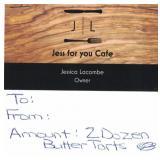 24 Butter Tarts From Jess for You Café Hillsburgh