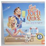 Get Rich Quick Board Game / Paint Your Own Dragon