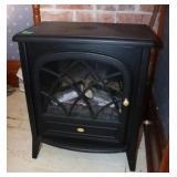 "Electric fireplace-20x13x24"" tall"