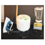 Small appliances-iron/blender/rice cooker