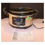 Hamilton Beach 6 Quart slpw cooker-programmable-
