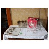 Lot of assorted glasses - 12 of 1 kind and 6 25th