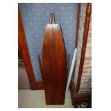 Vintage folding wood ironing board