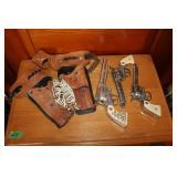 Toy guns & holster