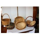 Box of assorted baskets